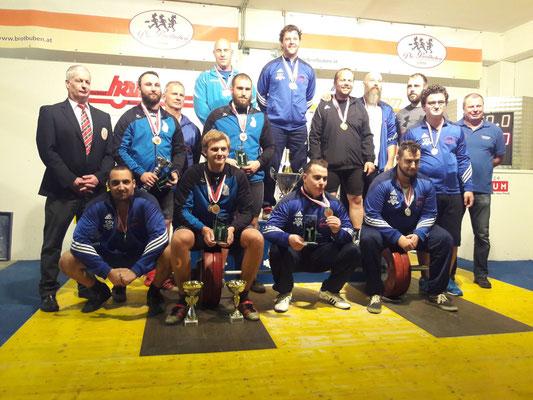 Siegerehrung Tiroler Meisterschaft Gruppe 2