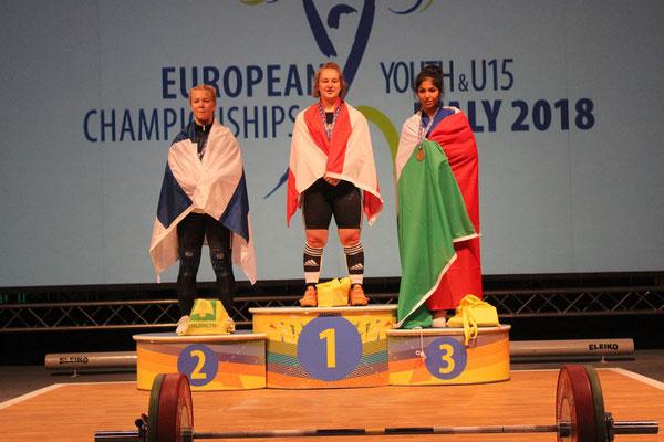 Siegerehrung Kategorie -69,00 kg