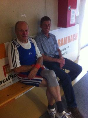 Masters Athlet Brandauer Manfred und Betreuer Heiss Manfred (AK Innsbruck)