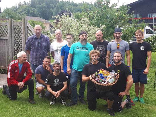Siegerehrung Herren Tiroler Mehrkampfmeisterschaft 2018