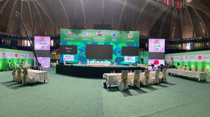 Wettkampfbühne U20-Weltmeisterschaft in Tashkent (Uzbekistan)