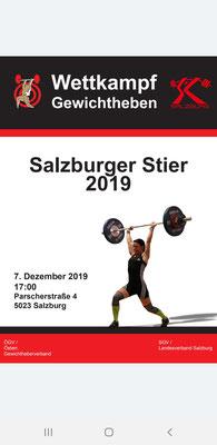 Plakat Salzburger Stier 2019
