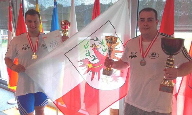 Haider Stefan und Nathanailidis Alexandros (KSV-RUM)