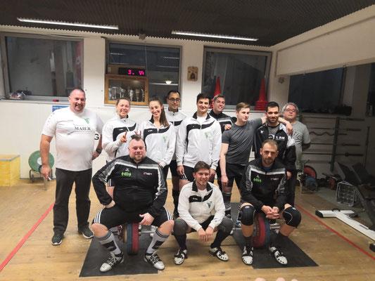 Mannschaftsphoto WKG AK Innsbruck/USC Dornbirn & WKG ASKÖ Feldkirchen/SAV Graz