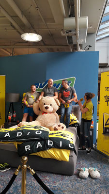 Unterladstätter Norbert bei der Life-Radio Challenge