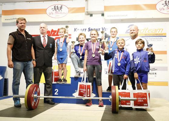 Siegerehrung Tiroler Schülercup 2018
