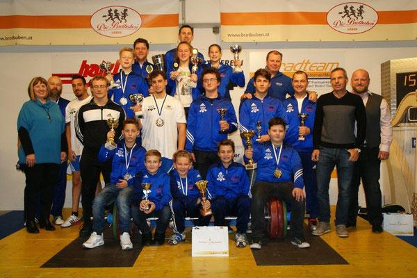 Siegerehrung Klubmeisterschaft 2015 (KSV-Rum)