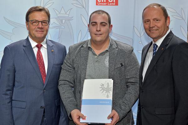 Auszeichnung Nathanailidis Alexandros (KSV-RUM)