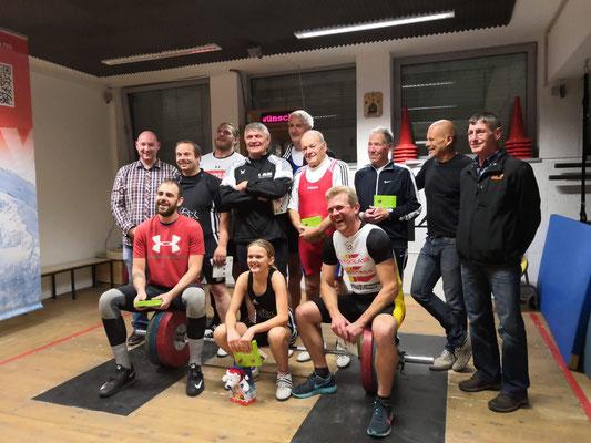 Siegerehrung Klubmeisterschaft AK Innsbruck 2018
