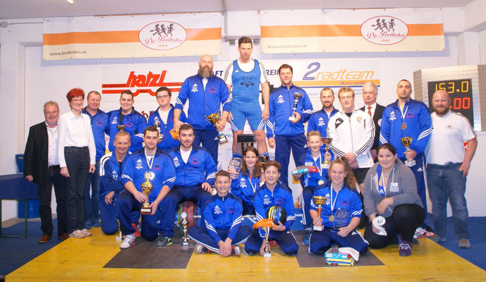 Gruppenbild Klubmeisterschaft KSV-RUM 2016
