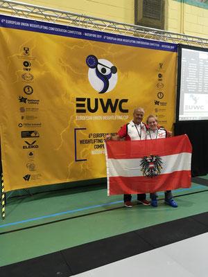 Steiner Victoria (KSV-Rum) & Nationaltrainer Lechner Hans