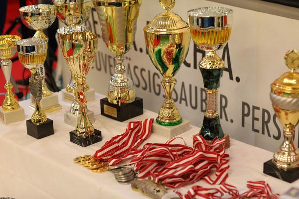 Pokale & Medaillen ÖM 2019 in Linz