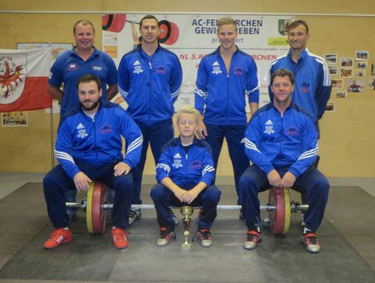 Mannschaft KSV-Rum (Sieger NL-West 2015)