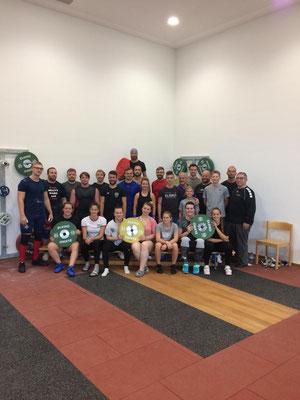 Teilnehmerinnen und Teilnehmer ASKÖ-Trainingslehrgang 2019