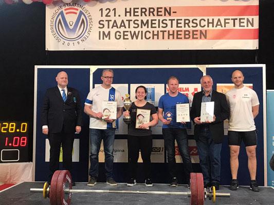 Siegerehrung Regionalliga 2019