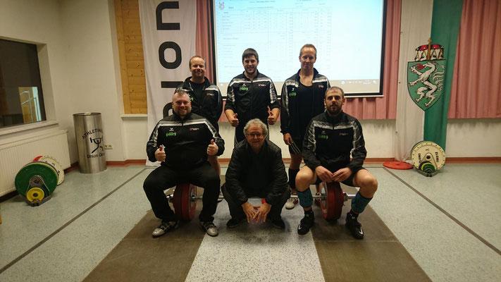 Mannschaftsphoto WKG AK Innsbruck/USC Dornbirn