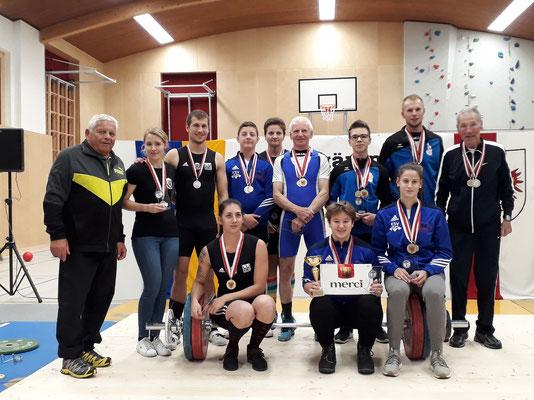 Gruppenphoto Tiroler Meisterschaft 2018 - Gruppe 1