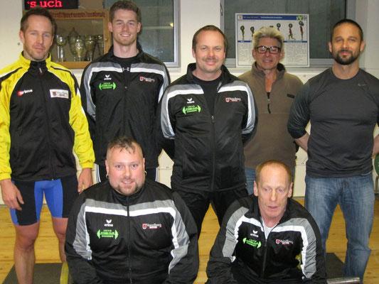 WKG AK Innsbruck/USC Dornbirn mit Betreuer
