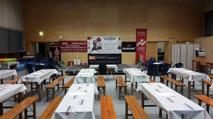 Wettkampfhalle Österreichische Staatsmeisterschaft 2017