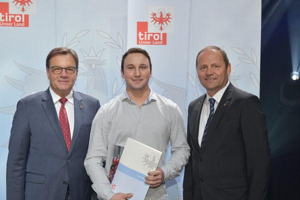 Auszeichnung Leitner Florian (KSC Bad Häring/Kufstein)