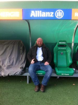Obmann Steiner Harald (neue Funktion als Rapid-Trainer)