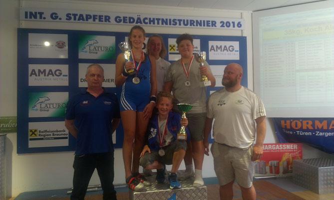 Huber Manfred - Lamparter Anna - Steiner Victoria - Schneider Hannes - Barth Florian - Steiner Harald (KSV-RUM)