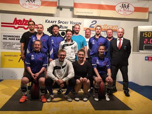 Mannschaft KSV-Rum & WKG ASKÖ Feldkirchen/SAV Graz