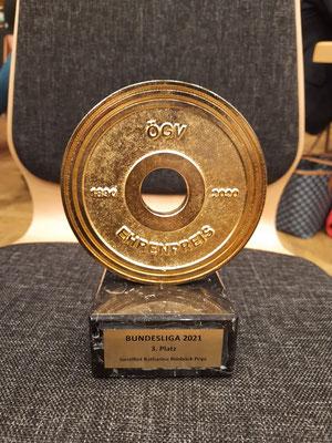 Preis 3. Platz für die WKG Bad Häring/KSV-Rum