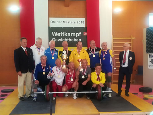 Siegerehrung Brandauer Manfred (AK Innsbruck) & Siegerehrung Kreisser Johann (KSC Bad Häring/Kufstein)