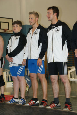 Vorstellung der Athleten Walkam Mario/Hölbling Mathias/Leitner Florian