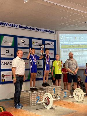Siegerehrung U9 mit Hofer Benjamin & Posch Andreas (KSV-Rum)