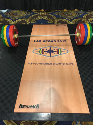 Trainingsraum U17 WM in Las Vegas