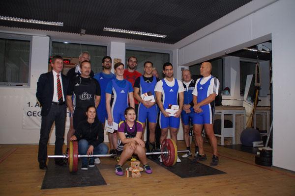 Teilnehmer der Klubmeisterschaft AK Innsbruck