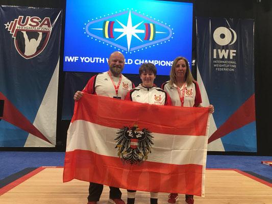 Steiner Harald - Steiner Victoria - Steiner Sabine (U17 WM in Las Vegas)