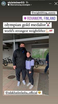 Stärkster Mann der Welt (Lasha Talakhadze) & Steiner Victoria