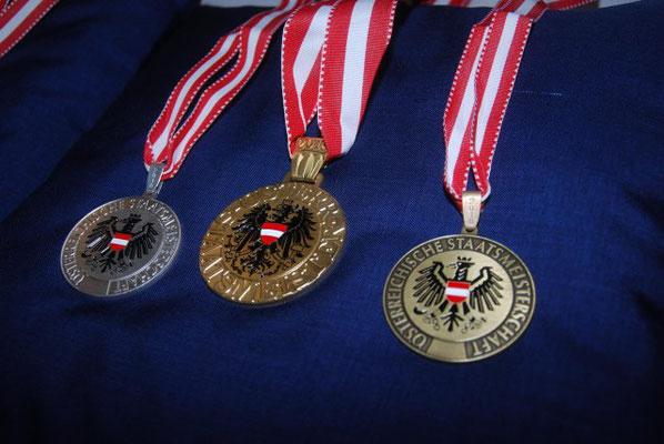 Medaillen Staatsmeisterschaft 2018