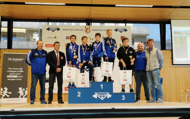 Siegerehrung Tiroler Schülermeisterschaft 2021