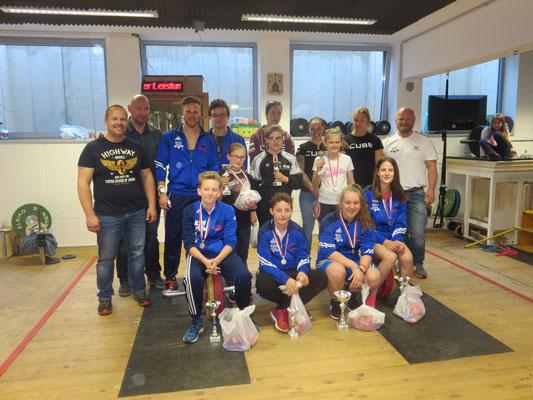 Teilnehmer & Teilnehmerinnen der Tiroler Schüler-u. Jugendmeisterschaft sowie im Neulingscup