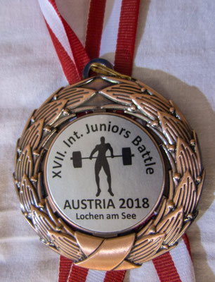 Medaille Internationales Junior Battle in Lochen