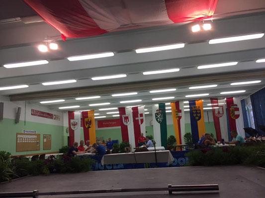 Wettkampfbühne ASKÖ-Bundesmeisterschaft 2017