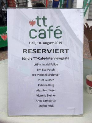Gästeliste TT-Cafe