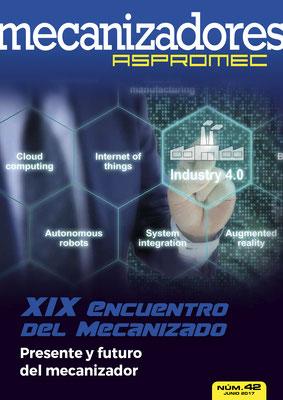 Revista Mecanizadores Aspromec 42. Junio 2017