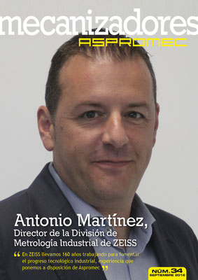 Revista Mecanizadores Aspromec 34. Septiembre 2016