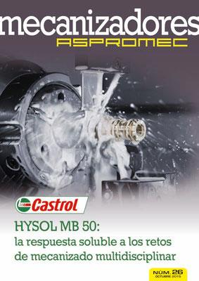 Revista Mecanizadores Aspromec 26. Octubre 2015