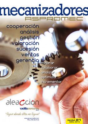 Revista Mecanizadores Aspromec 21. Abril 2015