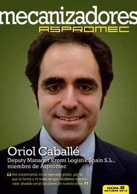 Revista Mecanizadores Aspromec 8. Octubre 2013