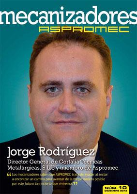 Revista Mecanizadores Aspromec 10. Diciembre 2013