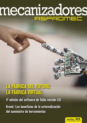 Revista Mecanizadores Aspromec 43. Julio / Agosto 2017