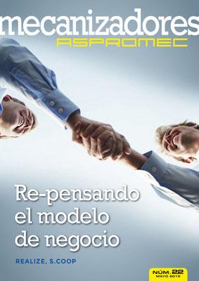 Revista Mecanizadores Aspromec 22. Mayo 2015