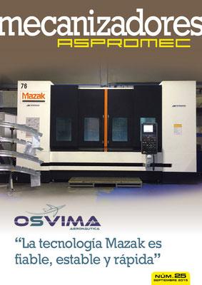 Revista Mecanizadores Aspromec 25. Septiembre 2015